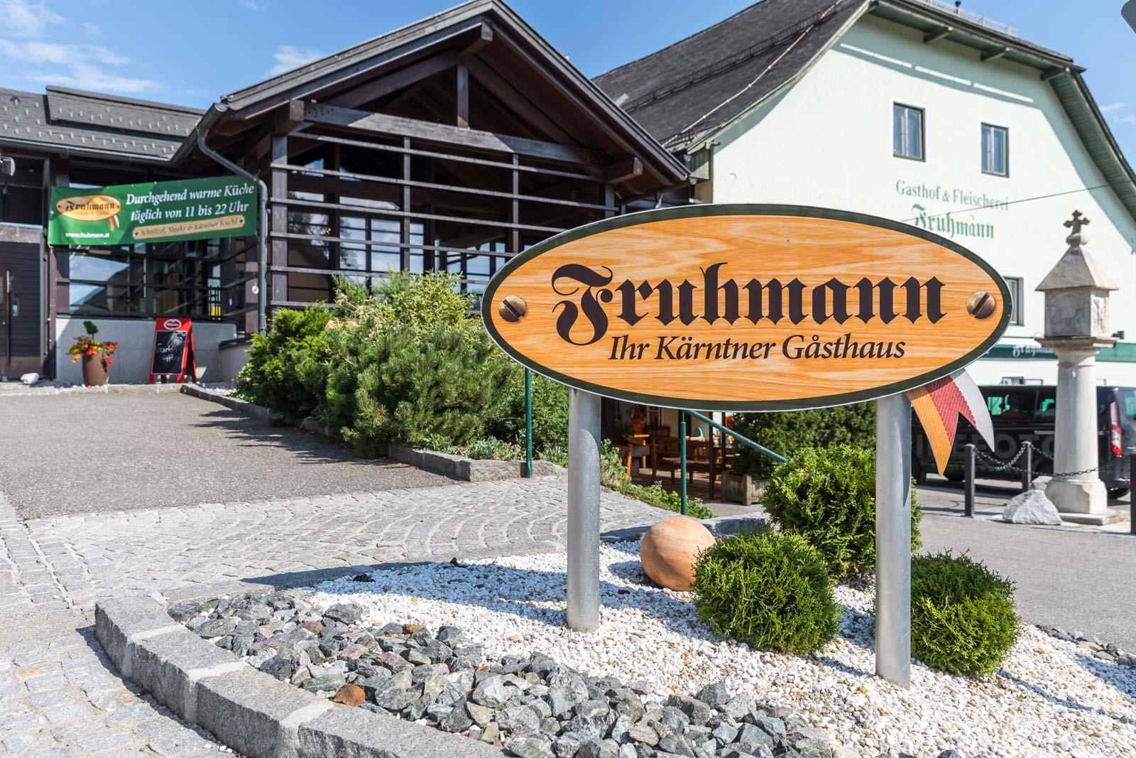 Gasthaus Fruhmann Eingang